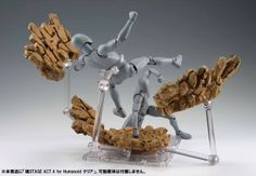 Action Figures Achieve Impact With New Tamashii Nations Stage Display Stands
