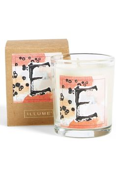 Cute monogram candles = great easy gift