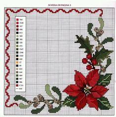 Cross Stitch Christmas Ornaments, Xmas Cross Stitch, Cross Stitch Pillow, Cross Stitch Borders, Christmas Embroidery, Cross Stitch Flowers, Christmas Cross, Cross Stitch Charts, Cross Stitch Designs