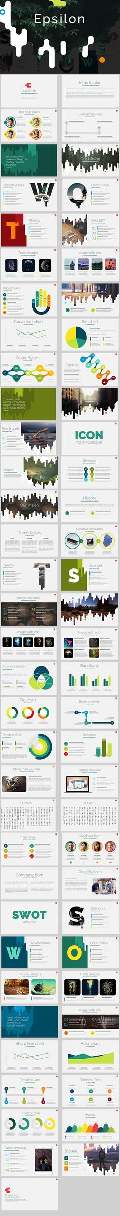 121 Best Business Powerpoint Templates Images Business