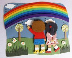 Rainbow by Agueda Horn, via Flickr