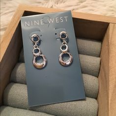 Nine West earrings NWT. Nine West earrings. Retails for 24 Nine West Jewelry Earrings
