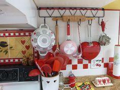 My kitchen vignette