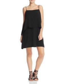 Splendid Asymmetric Overlay Dress   Bloomingdale's