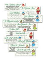 White Elephant Gift Exchange Poem Game - Christmas Gift Exchange Ideas, Printable Christmas Games
