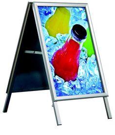 Kundenstopper Indoor A1 Werbeaufsteller  von AMS-Displays auf DaWanda.com