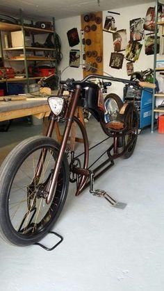 Beach Cruiser Bikes, Cruiser Bicycle, Motorized Bicycle, Cool Bicycles, Cool Bikes, Custom Motorcycles, Custom Bikes, Sidecar, Motorised Bike