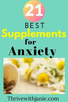 Anxiety can be difficult to deal with,and makes every day occurrences hard to deal with. There are many self care tips that can help to improve anxiety and mental health. Diet and supplements can improve anxiety. Check these 21 natural supplements that can relieve anxiety naturally. #mentalhealth