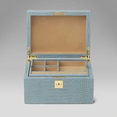 Single Tray Jewellery Box - Smythson United States
