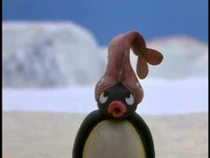 Welcome to the world of Pingu! Pingu is a charming and cheeky young penguin who lives in the snow and ice of the South Pole. Weird Pictures, Reaction Pictures, Cute Memes, Funny Memes, Pingu Pingu, Pingu Memes, Youre Crazy, Wholesome Memes, Cursed Images