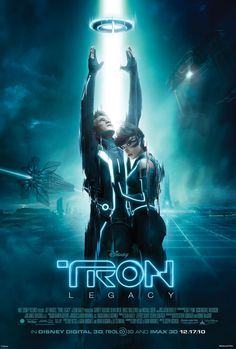 Tron Vintage Color Advertisement Poster Remastered 11x17 inches Video Game Print