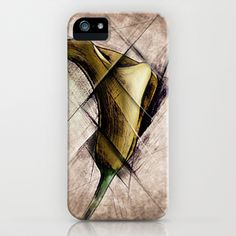 Deconstructed Lily iPhone & iPod Case by Werk of Art - $35.00