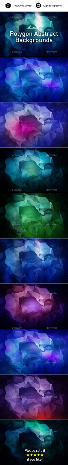 Polygon Abstract Backgrounds. Download here: http://graphicriver.net/item/polygon-abstract-backgrounds-vol5/16660512?ref=ksioks