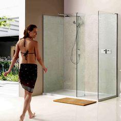 Matki Boutique Corner Walk-in Shower Enclosure with Side Panel