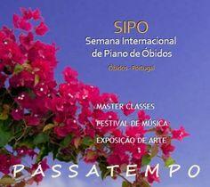 Neste passatempo oferecemos convites para alguns dos concertos da XIX Semana Internacional de Piano de Óbidos (SIPO), que decorre entre 24 de julho e 4 de agosto. Participem e... boa sorte! Link: http://e-cultura.sapo.pt/Artigo.aspx?ID=538