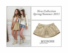Shop at www.kidsandchic.com luxury Italian brand #Microbe by #MissGrant Spring/Summer 2015 collection. #girls #kidsfashion #girlsfashion #girlswear #fashion #style #fashiontrends #moda #modainfantil #tendencias #niña #kidsandchic #kidsandchiccom #castelldefels #barcelona