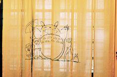 totoro curtain