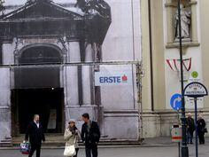 Vor der Peterskirche in Wien - November 2011