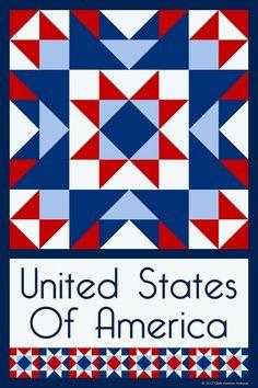 USA barn quilt