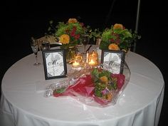 sweetheart table mr & mrs - Google Search
