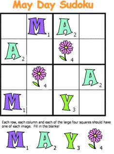 Free printable puzzles that are fun to play like Sudoku, word search, and printable crosswords. These printable puzzles include hours of entertainment and are perfect for the whole family! Sudoku Puzzles, Puzzles For Kids, Spring Activities, Activities For Kids, Free Printable Puzzles, Spring Books, English Worksheets For Kids, English Writing Skills, May Days