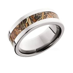 Get this polished flat camo ring with your choice of Titanium, Cobalt Chrome, or Black Zirconium. Customizable to fit his style and show exactly what's in his blood! Camo Wedding Rings, Camo Rings, Wedding Ring For Him, Camouflage Wedding, Wide Wedding Bands, Shotgun Wedding, Cowgirl Wedding, Wedding Rustic, Thing 1