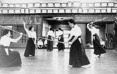 Training in Jikishin Kage-ryu