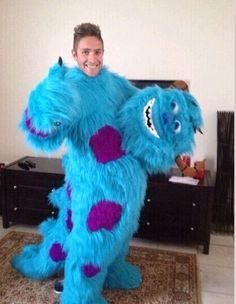 1237627bb3 Find More Mascot Information about Monster Sulley Mascot Costume Adult  Unisex Monsters University Cartoon Character Mascot