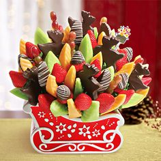 1000 Images About Holiday Fruit Decor On Pinterest