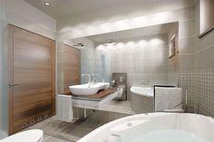 Projekt domu Sfinks VI 94,85 m2 - koszt budowy - EXTRADOM House Design Pictures, My House Plans, Bathtub, Construction, Bathroom, Studio, Furniture, Home Decor, Costa Rica