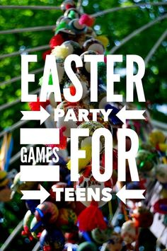Planning cool Easter party games for teens and tweens isn't as much of a challenge as you might think! Check out a few of our favorites for a fun day!