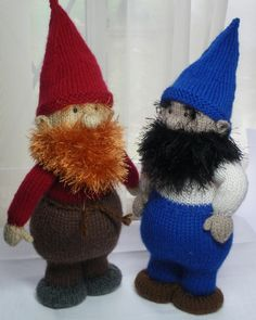 Knitted Gnome - Audrey's Knits