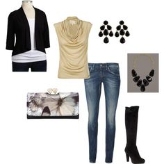 Gold rush, created by tnoelle77 on Polyvore