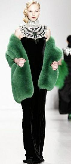 Zang Toi FW 2014, New York Fashion Week