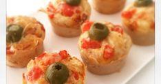 muffins, muffins salés, pizza, olive, apéro, apéritif, apéro dînatoire