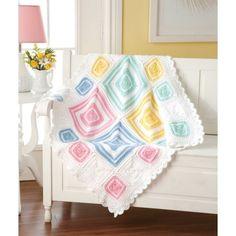 Around The Blocks Baby Blanket