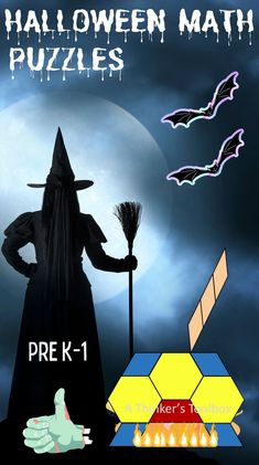 Halloween Puzzles, Halloween Patterns, Fun Math Activities, Math Games For Kids, Fun Learning, Teaching Kids, Love Teacher, Primary Maths, Maths Puzzles