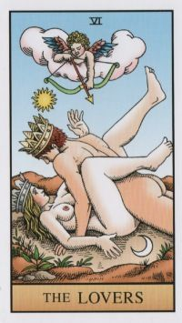 The Lovers -- Alchemical Tarot: Renewed