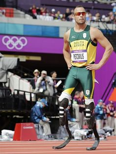 Oscar Pistorius In London - Track & Field Slideshows | NBC Olympics