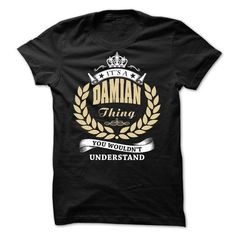 DAMIAN Thing - You Wouldnt Understand! - #chambray shirt #cat sweatshirt. ADD TO CART => https://www.sunfrog.com/Names/DAMIAN-Thing--You-Wouldnt-Understand.html?68278