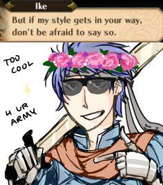 Ike is too cool 4 ur army