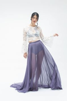 'Sonder feelings' Skirt with 'Bella Donna' top