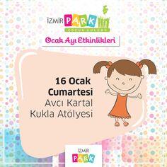 """""""Avcı Kartal Kukla Atölyesi"""" İzmir Park Çocuk Kulübü'nde!"""