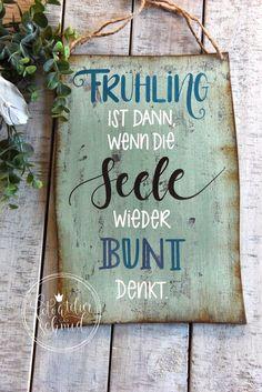 Blackboards, Hygge, Hand Lettering, Seasons, Words, Spring, Outdoor, Inspiration, Garden