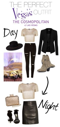 Vegas Outfit: Day to Night