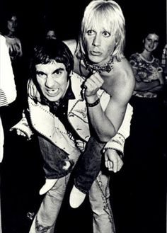 Iggy Pop & Keith Moon