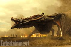 Game of Thrones Season 7 Photos — Including Daenerys on Drogon mid-battle!