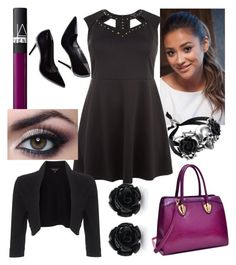 """""""morfología redonda, look de cocktail"""" by micaelagrau on Polyvore featuring Dasein, NARS Cosmetics and Phase Eight"""