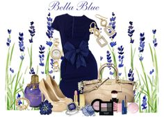 """Bella Blue"" by julie-chadwick on Polyvore"
