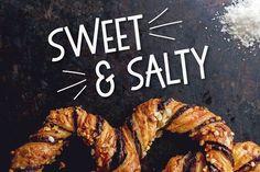 Sweet & Salty - A Bouncy Sans Serif by Josh O. on @creativemarket